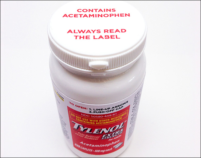 J&J tries new cap to curb fatal Tylenol overdoses