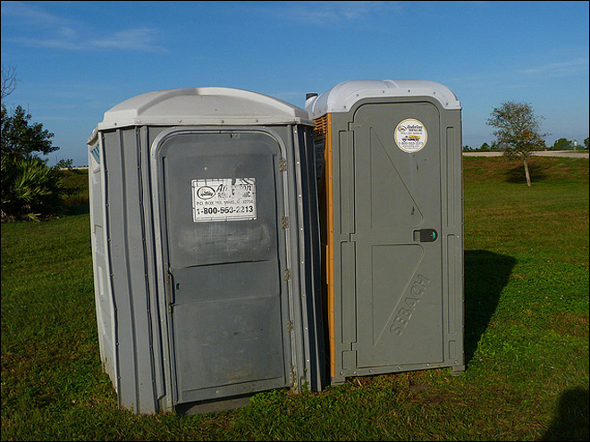 Porta Potty peeper sentenced to 3 years in prison