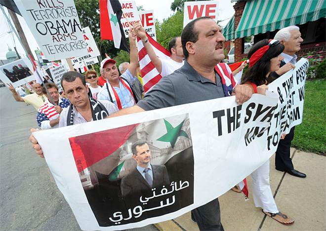 Syria Protest Pennsylvania