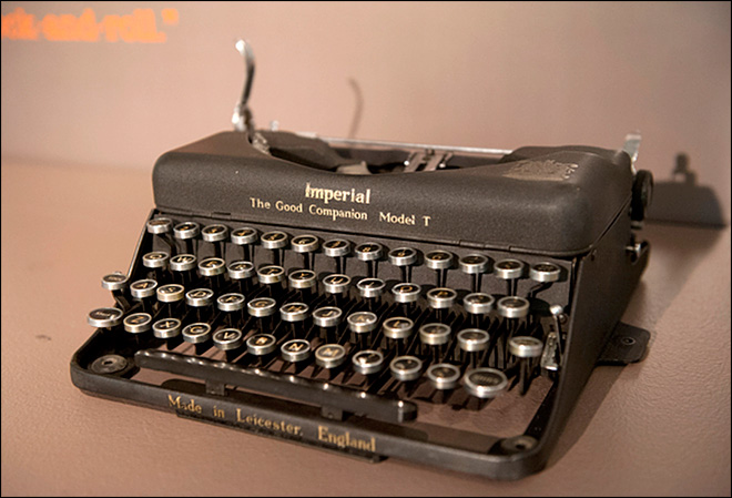 John Lennon's, Unabomber's typewriters among many on display