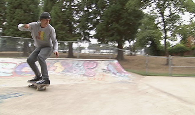 Skateboarding in Eugene