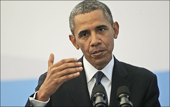 Obama plans speech on Syria, notes opposition at home
