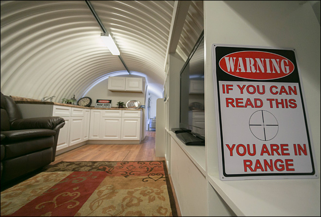 Small California city welcomes doomsday bunkers