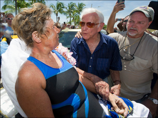 Cuba-to-Fla. swimmer responds to skeptics doubting her feat