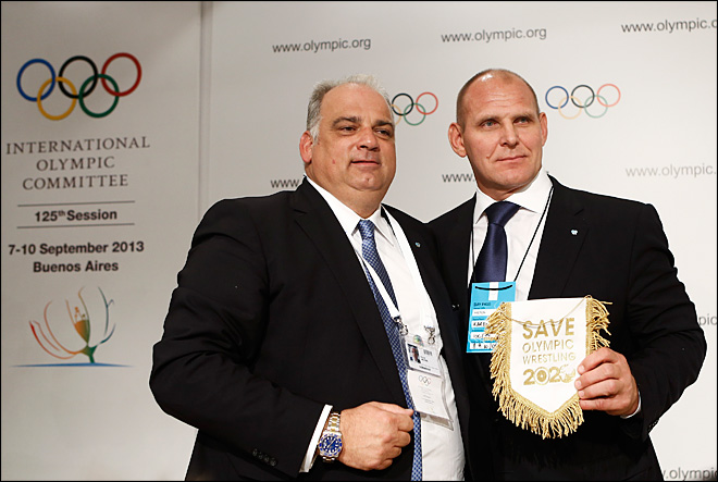 Wrestling wins back place in 2020 Olympics