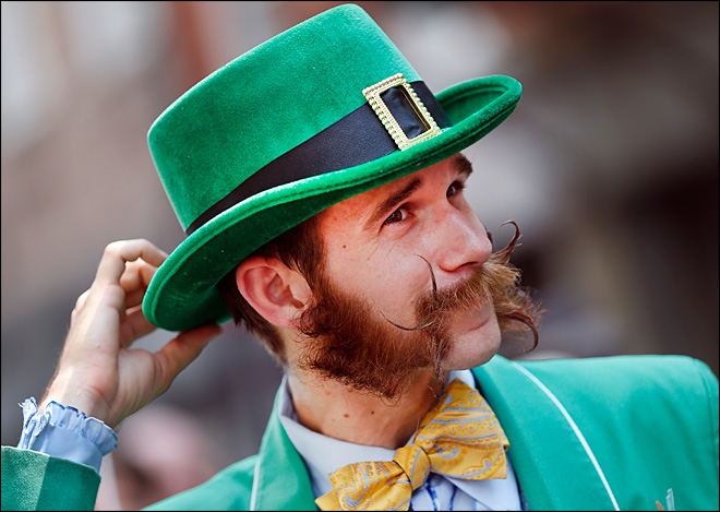 Beards, mustaches go on parade in New Orleans