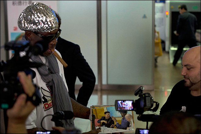 Rodman: Going back to N. Korea with former NBA players