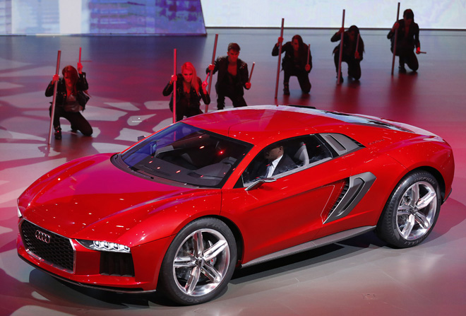 CORRECTION Germany Frankfurt Auto Show