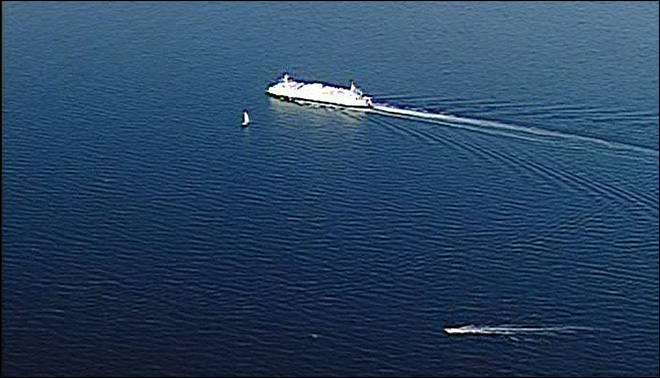 Woman pulled from Puget Sound after jumping off ferry
