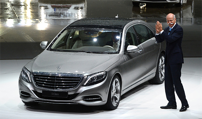 Daimler's Mercedes has record sales month