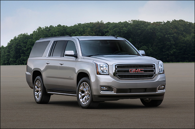 Big SUVs rumble along as GM shows new models