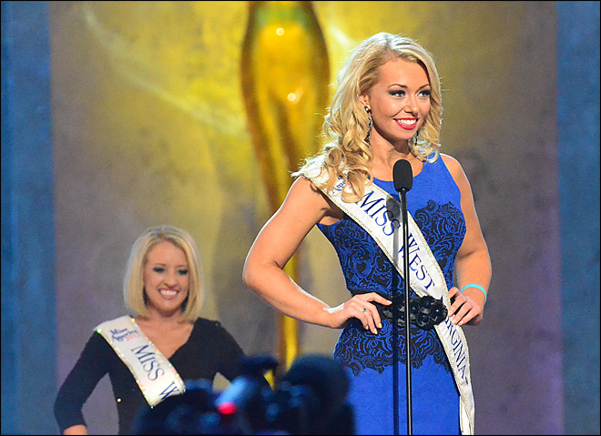 Oklahoma, Minn. win 2nd night Miss America prelims