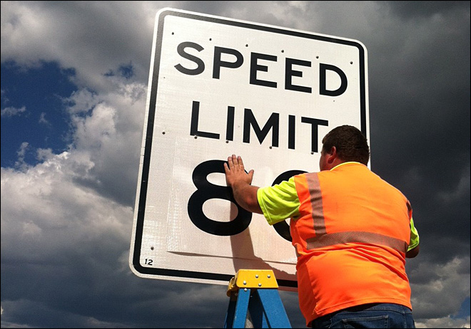 Proposal to bump speed limit to 80 mph OK'd in Idaho senate