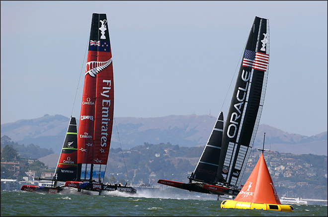 Kiwis close within 1 win of America's Cup