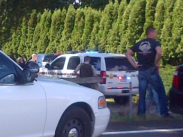 Police chase ends in Eugene