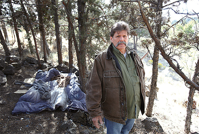 Homeless camps dot Central Oregon