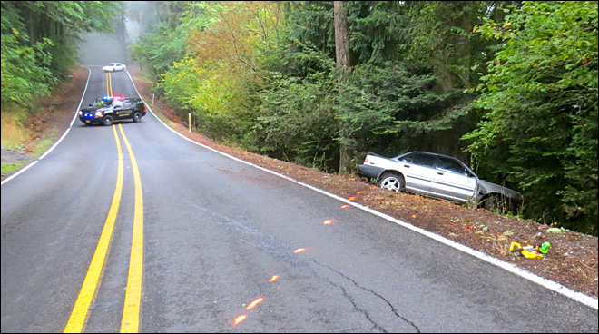 Woman dies after crashing into tree south of Salem