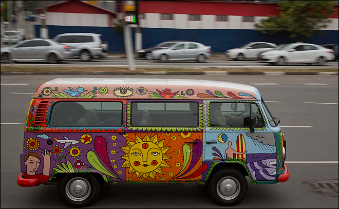 Long, strange trip ending for VW's hippie van