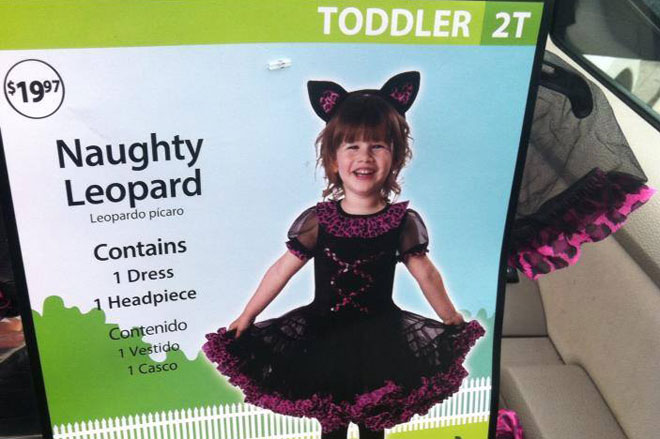 Walmart pulls 'naughty' costume: 'Never our intention to offend'