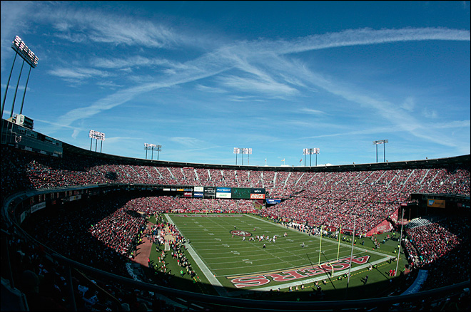 More fan violence reported at 49ers' Candlestick Park