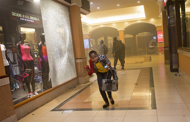 APTOPIX Kenya Mall Attack
