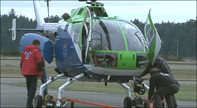 Emergency Airlift makes the move back to North Bend