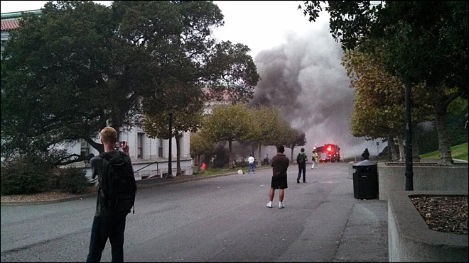 Power outage at UC Berkeley leads to explosion