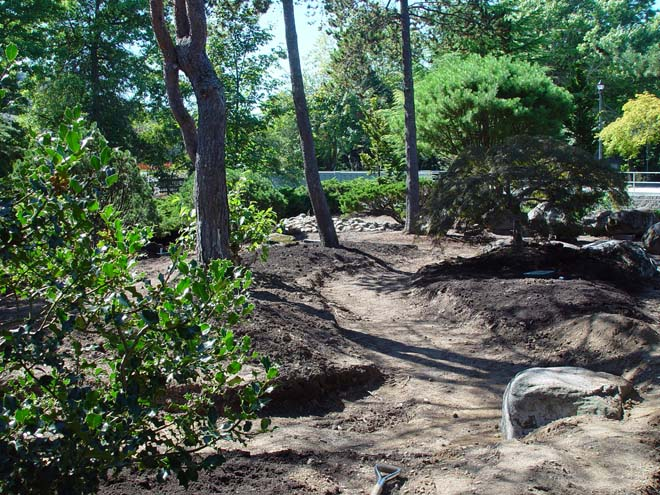 Gresham's revitalized Japanese garden is taking shape