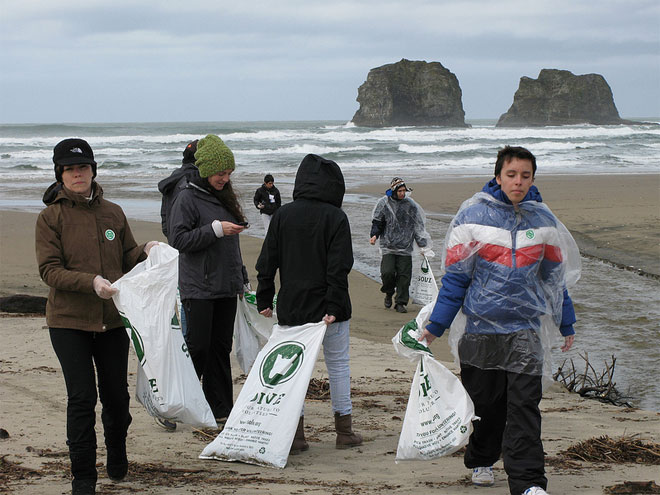 SOLVE's beach cleanups, canceled by weather, will be rescheduled