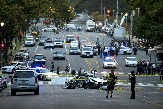 Official: Woman killed in DC chase was delusional