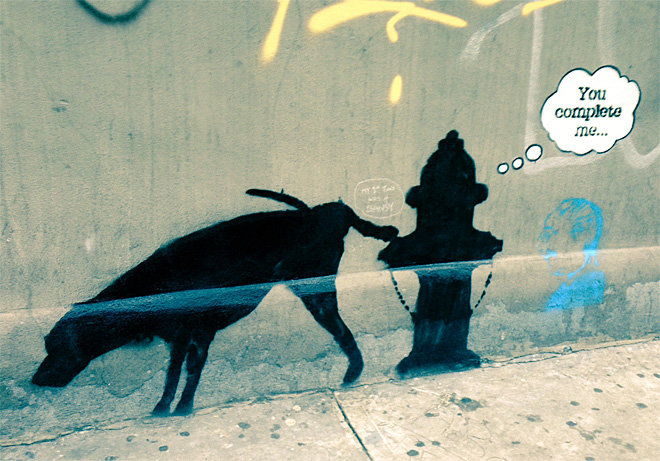 NYC-Banksy Graffiti