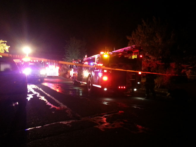 Fire damages house in South Eugene