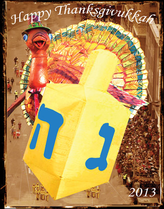 Gobble tov! American Jews ready for 'Thanksgivukkah'