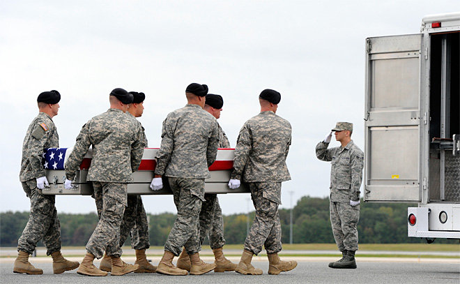 Pfc. Cody Patterson's body returned