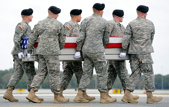 Body of Oregon soldier flown back; family will get death benefit payment