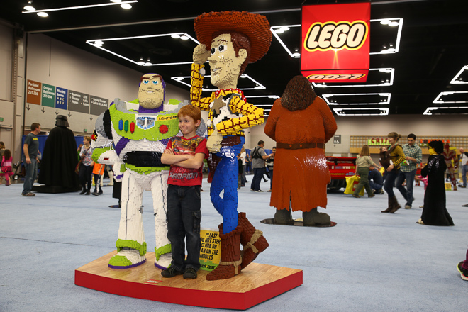 Lego KidsFest at the Oregon Convention Center