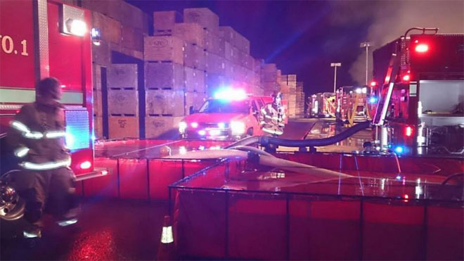 5-alarm fire wipes out hazelnut drying plant