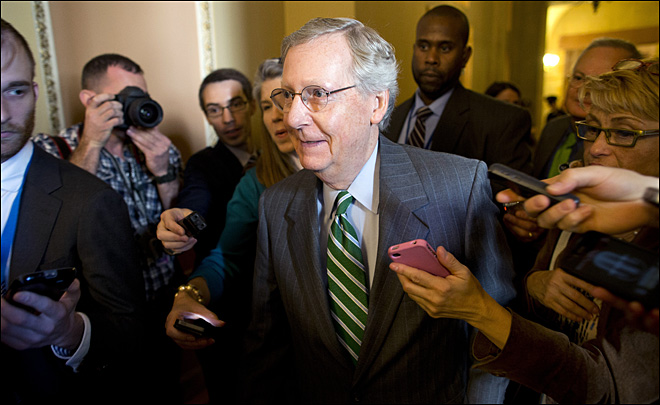 Reid, McConnell optimistic on debt-shutdown deal