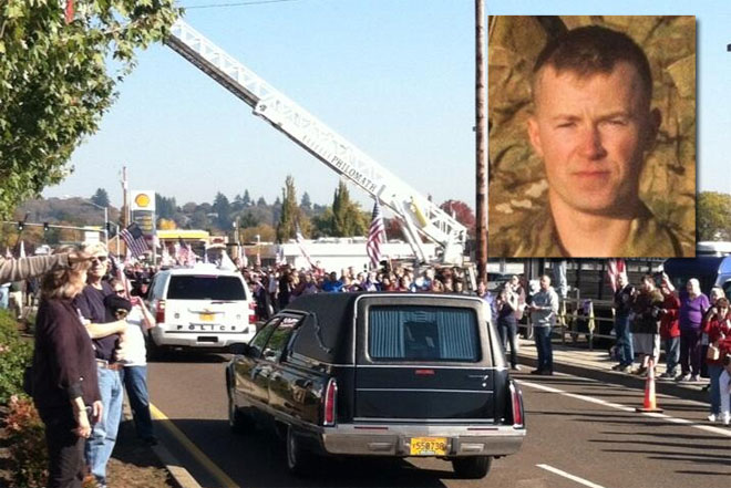Philomath honors soldier killed during combat mission