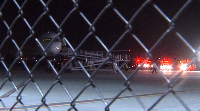Seattle-bound jetliner makes emergency landing in E. Wash.