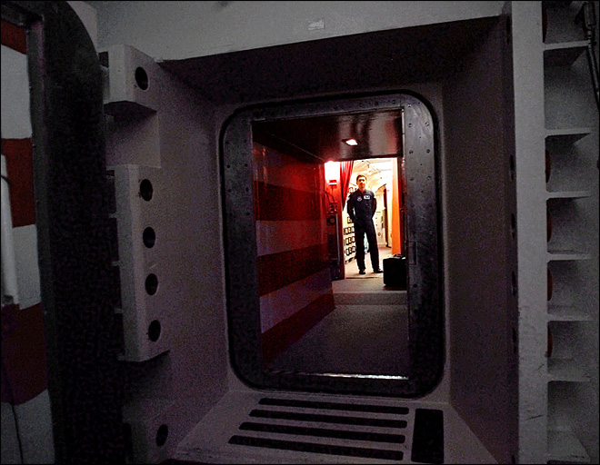 Nuclear officers napped with security door left open