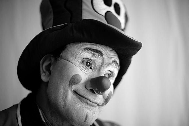 APTOPIX Mexico Clown Portraits Photo Gallery