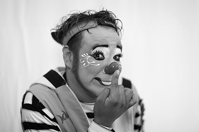 Mexico Clown Portraits Photo Gallery
