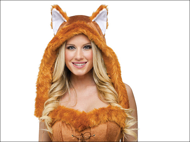 What does the fox say? Ka-ching for Halloween