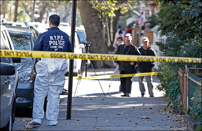 Police probe gruesome stabbings of NY mom, 4 kids