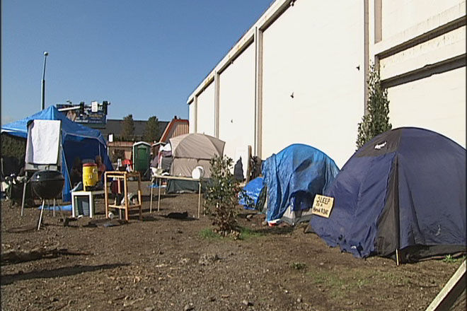 Whoville asks mayor to declare emergency, legalize homeless camp