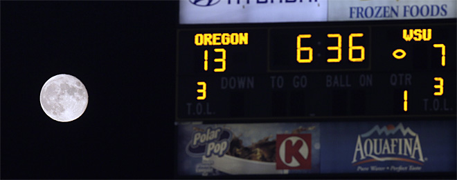 Washington St Oregon Football