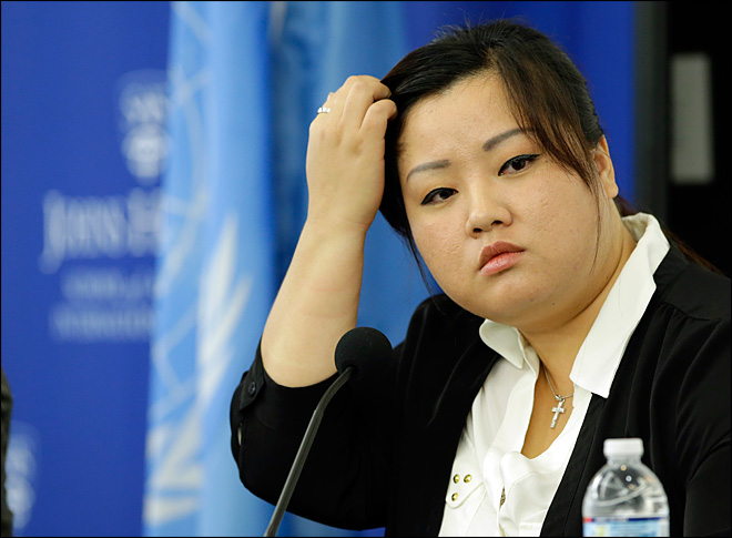 North Korea defector testifies at UN rights probe in US