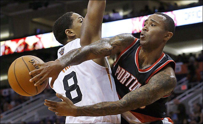 Dragic, Bledsoe help Suns over Blazers
