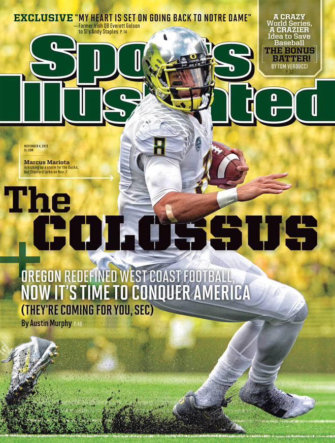 SI on Oregon-Stanford game: 'Call it the Nouveau Riche Bowl'